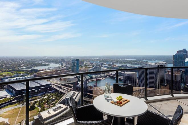 美利通酒店式公寓-肯特街 - 悉尼 - 阳台