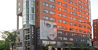 蒙特利尔零1酒店 - 蒙特利尔 - 建筑