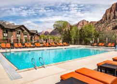 斯普林锡安国家公园斯普林希尔套房酒店 - 斯普林代尔 - 游泳池