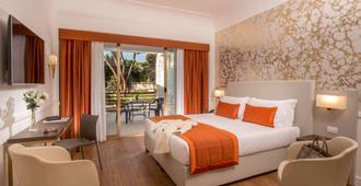 罗马香格里拉酒店 - 罗马 - 睡房