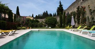 活力花园住宿加早餐旅馆 - 阿维尼翁 - 游泳池