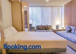 库西奥班盐酒店(带小厨房) - 檀香山 - 睡房