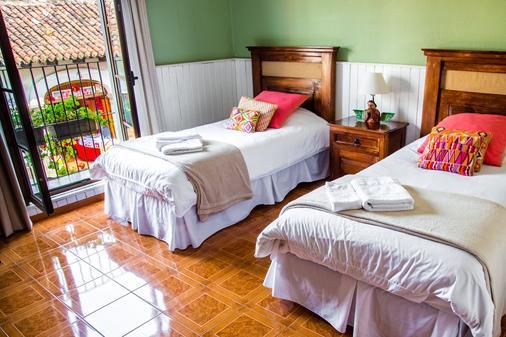 安提瓜卡萨阿科旅馆 - 安地瓜 - 睡房
