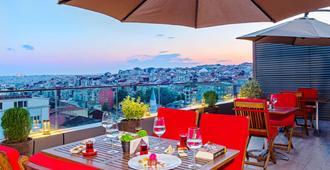 伊斯坦布尔艺术酒店 - 伊斯坦布尔 - 阳台