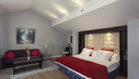 三位一体之家酒店 - 格拉纳达 - 睡房