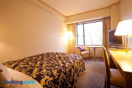 京都岚山酒店 - 京都 - 睡房