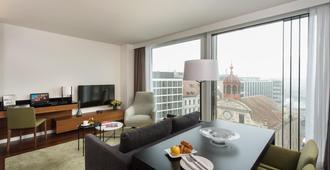 日内瓦辉盛阁国际公寓 - 日内瓦 - 客厅