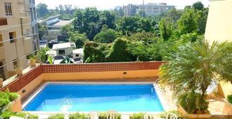 德雷克玻利瓦尔公寓酒店 - 圣多明各 - 游泳池