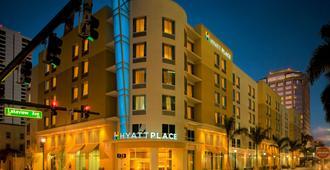 西座落滩凯悦普雷斯酒店 - 西棕榈滩 - 建筑