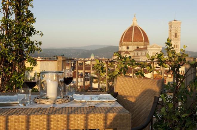 巴格里奥尼大酒店 - 佛罗伦萨 - 阳台
