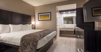 圣克拉拉硅谷贝斯特韦斯特普拉斯修尔住宿酒店 - 圣克拉拉 - 睡房