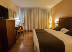 安道爾馬基克飯店 - 安道尔城 - 睡房