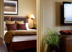 绿山套房酒店 - 南伯灵顿 - 睡房