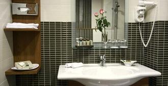 国际酒店 - 萨格勒布 - 浴室