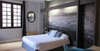 小屋酒店 - 佩皮尼昂 - 睡房