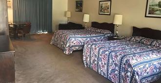 小木屋汽车旅馆 - 温德姆旅程住宿酒店 - 曼切斯特 - 睡房