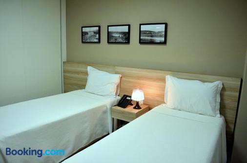 维勒塞莱斯蒂纳活动公寓式酒店 - 贝洛奥里藏特 - 睡房