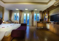 河内优雅红宝石酒店 - 河内 - 睡房