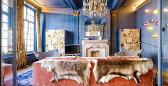 维特雷列酒店 - 安特卫普 - 睡房