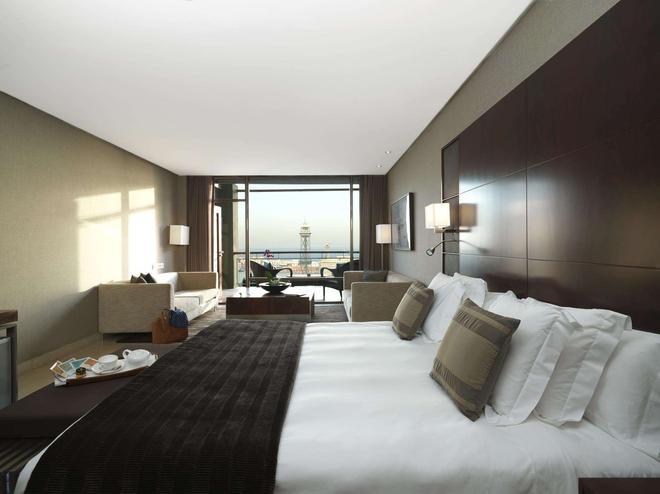 巴塞罗那美丽华酒店 - 巴塞罗那 - 睡房
