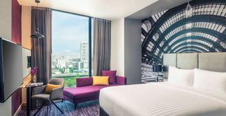 曼谷玛卡萨美居酒店 - 曼谷 - 睡房