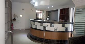 埃斯特雷拉达阿瓜弗里亚酒店 - 圣保罗 - 柜台