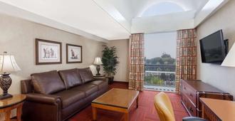 阿纳海姆豪生国际酒店和水上乐园 - 安纳海姆 - 客厅