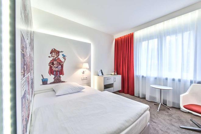奇乐酒店 - 萨尔布吕肯 - 睡房