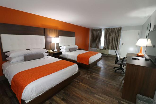 加特林堡市中心温德姆豪生酒店 - 加特林堡 - 睡房