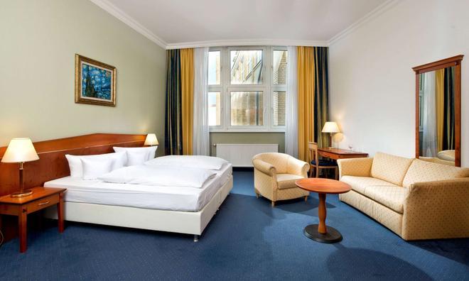 柏林米特温德姆花园酒店 - 柏林 - 睡房