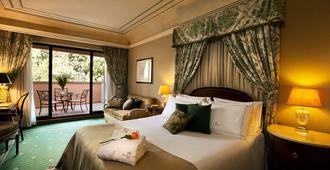河畔城堡酒店 - 罗马 - 睡房