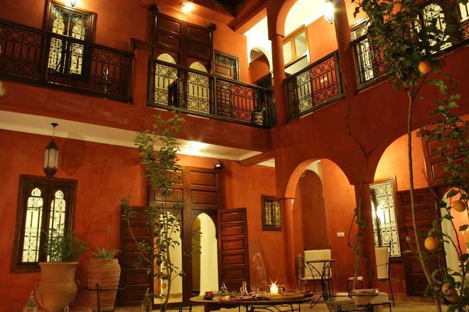 里亚德亲爱庭院旅馆 - 马拉喀什 - 建筑
