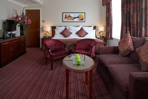 伦勃朗酒店 - 伦敦 - 客厅