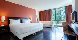 Nh普埃布拉历史中心酒店 - 普埃布拉 - 睡房