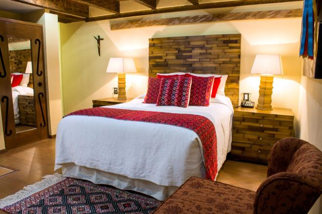 卡萨圣露西亚酒店 - 圣克里斯托瓦尔-德拉斯卡萨斯 - 睡房