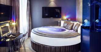 德科力克酒店 - 巴黎 - 睡房