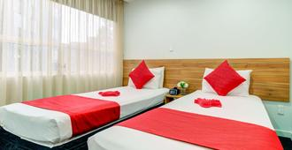 阿斯考提亚女王酒店 - 奥克兰 - 睡房