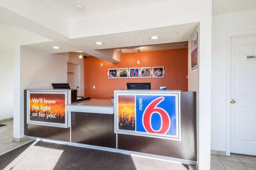 南印第安纳波利斯 6 号汽车旅馆 - 印第安纳波利斯 - 柜台