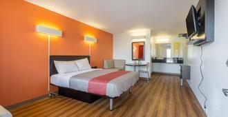 印第安纳印第安纳波利斯 - 南 6 号汽车旅馆 - 印第安纳波利斯 - 睡房