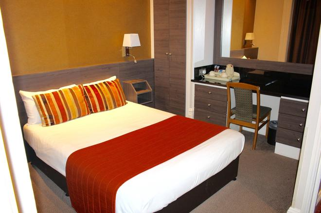 哥伦布酒店 - 伦敦 - 睡房