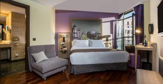马德里阿尔贝托阿奎莱拉nh酒店 - 马德里 - 睡房