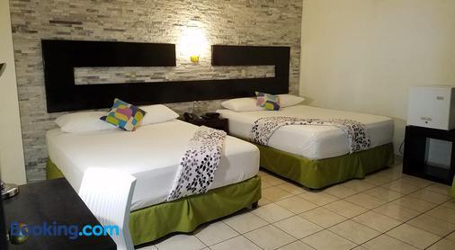 天使别墅酒店 - 圣萨尔瓦多 - 睡房