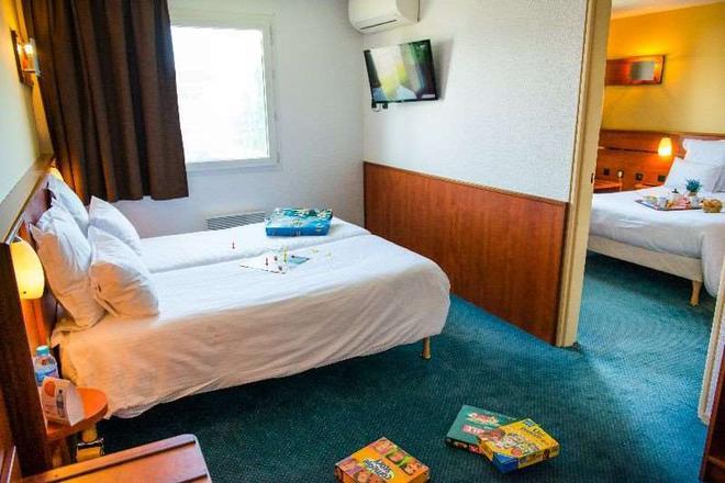 布卢瓦 - 乐普里玛布里特酒店 - 布鲁瓦 - 睡房