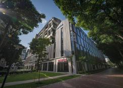 新加坡M Social酒店 - 新加坡 - 阳台