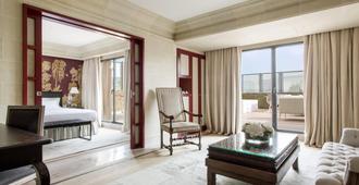 大华及水疗中心巴塞罗那酒店 - 巴塞罗那 - 客厅