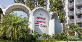 阿纳海姆豪生国际酒店和水上乐园 - 安纳海姆 - 户外景观