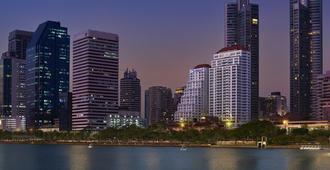 沙马阿索克湖景公寓式酒店 - 曼谷 - 户外景观