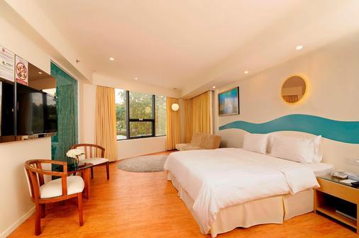 欧胜娜酒店 - 亚庇 - 睡房
