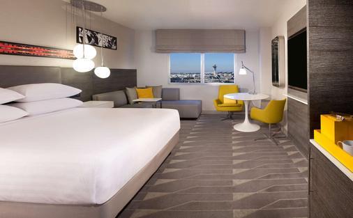 洛杉矶机场广场酒店-凯悦酒店联盟 - 洛杉矶 - 睡房