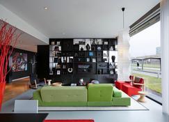阿姆斯特丹史基浦机场世民酒店 - 史基浦 - 客厅